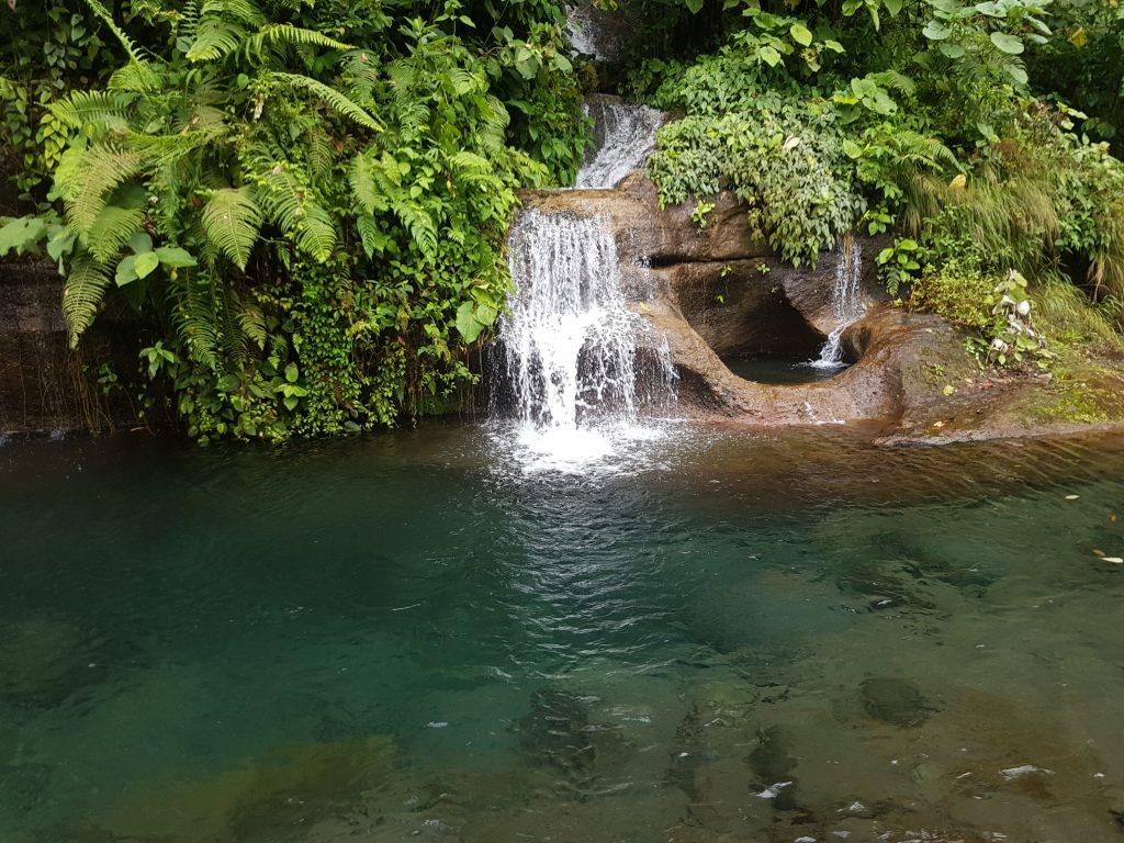 Bajos del Toro, in the waterfall region of Costa Rica