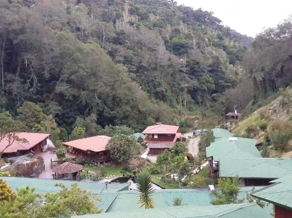 The amazing hotel Trogon, in San Gerardo de Dota Costa Rica