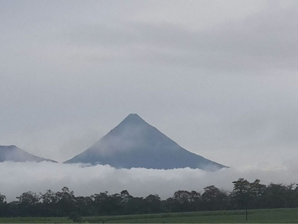 The volcano in Arenal Costa Rica