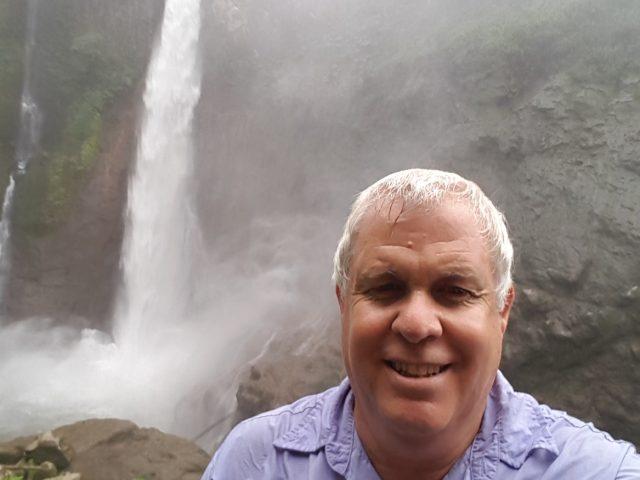 Asaf at Toro Amarillo Waterfall