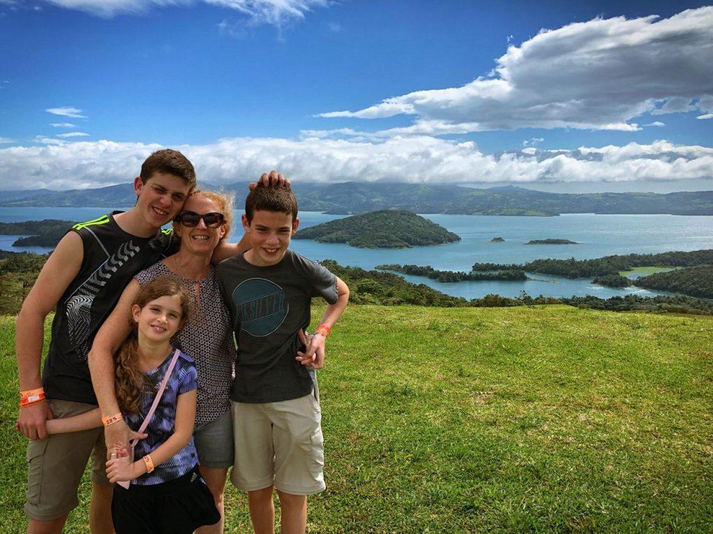 Lago Arenal en Costa Rica