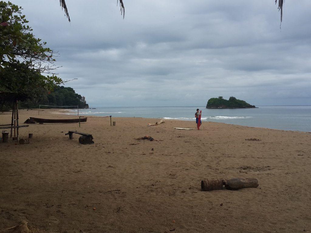 אי קטן בחופי פורטו ויאחו קוסטה ריקה