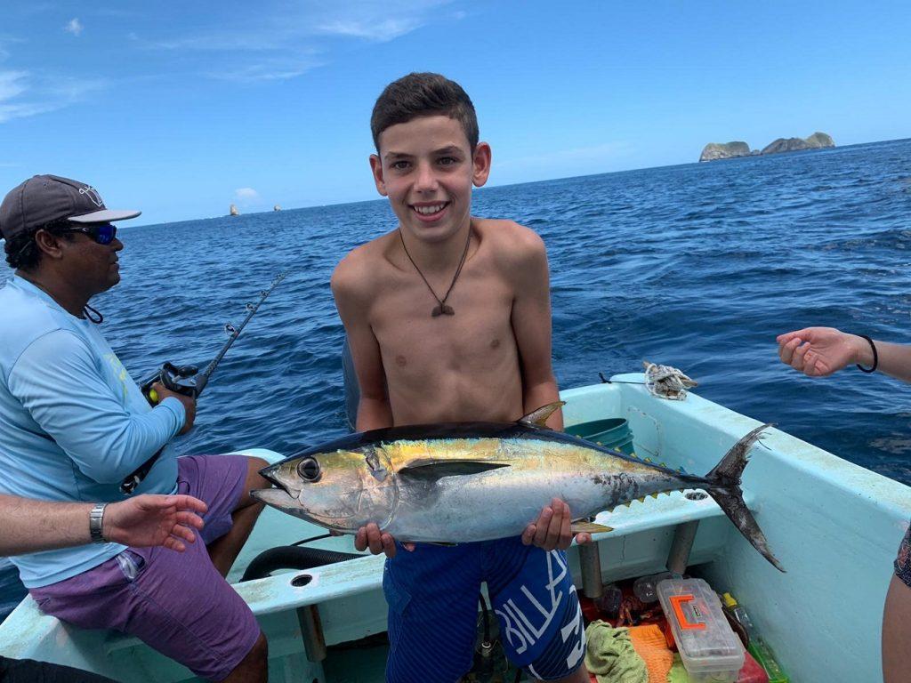 דיג ספורטיבי באיזור טמרינדו בקוסטה ריקה