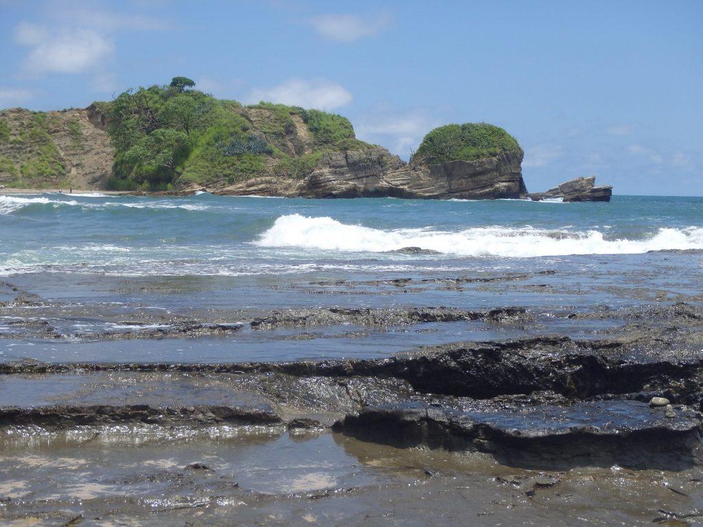 חוף קסום בנוסארה קוסטה ריקה