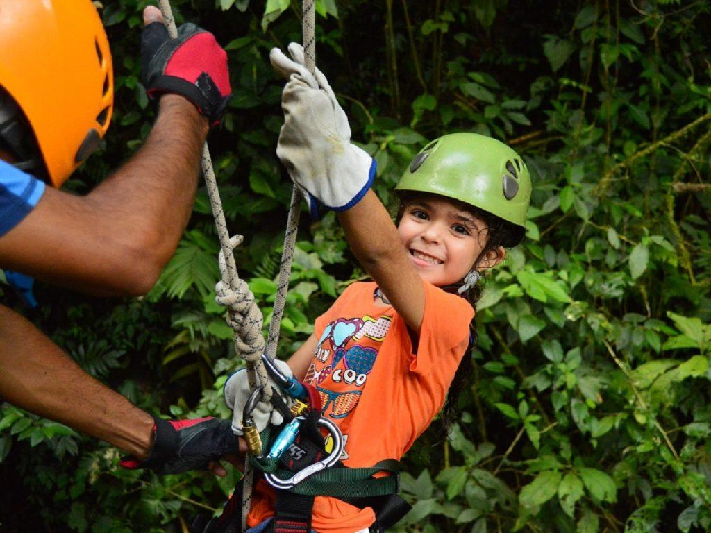 סנפלינג בקוסטה ריקה גם לילדים