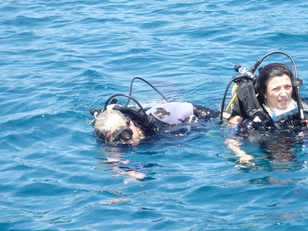 צלילה באיזור קורקובדו בקוסטה ריקה