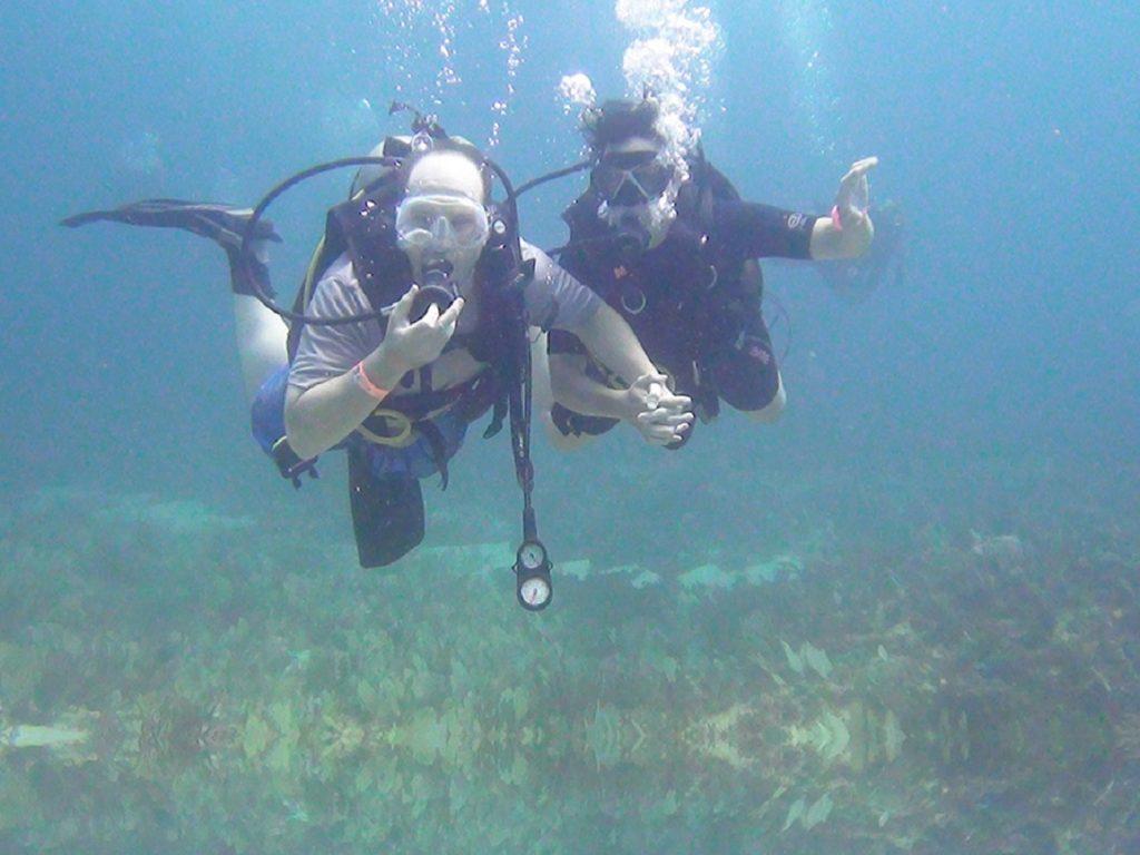 קורס צלילה באיזור קונצאל בקוסטה ריקה