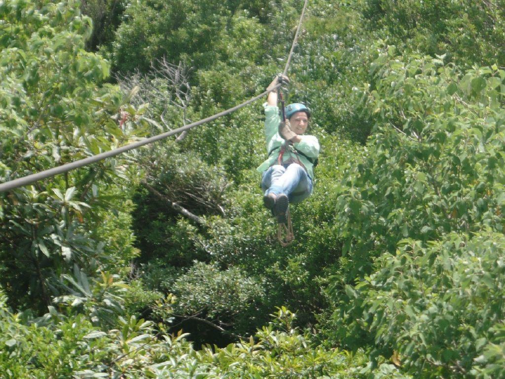 קנופי באיזור ארנל בקוסטה ריקה