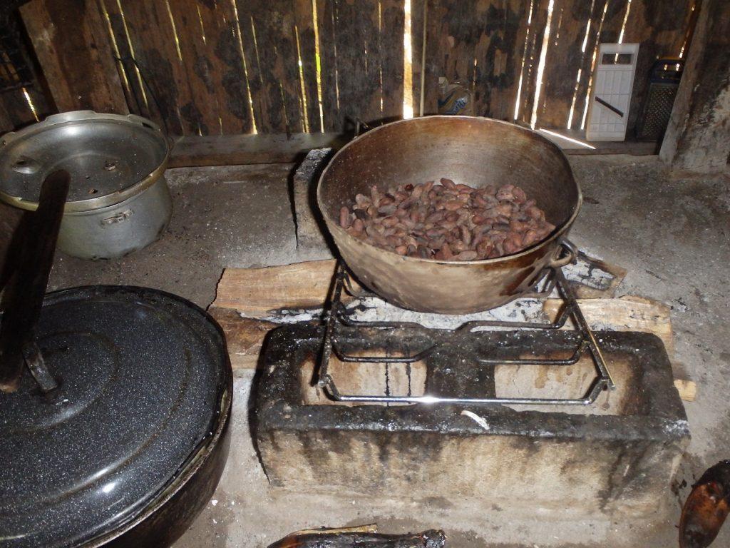 תהליך הכנת הקקאו באיזור פורטו ויאחו קוסטה ריקה