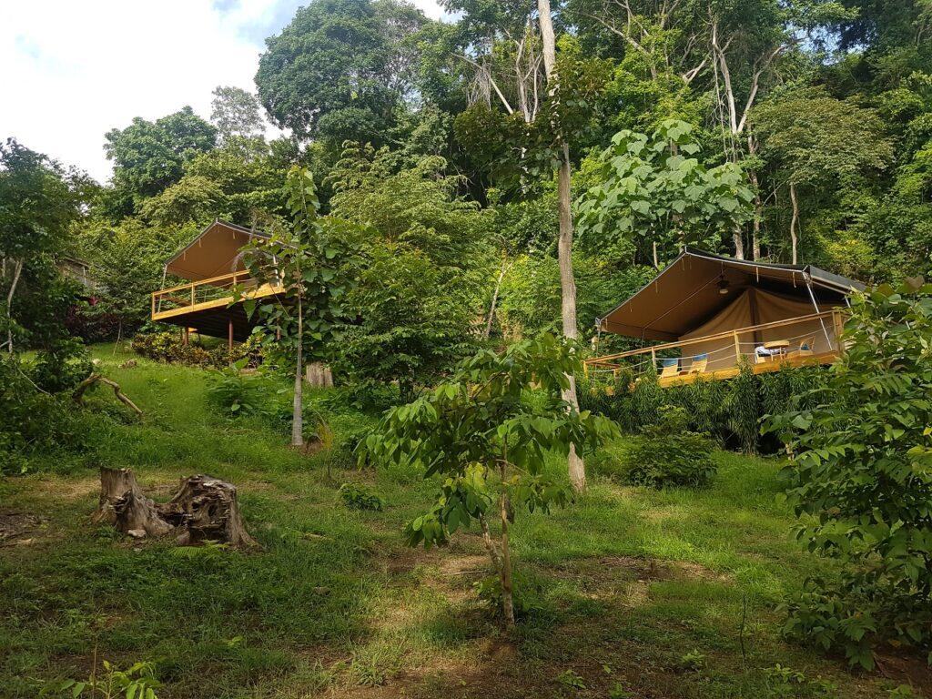 האוהלים המדהימים שבאי ציקיטה בקוסטה ריקה